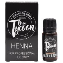 BrowTycoon Henna Golden Brown