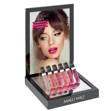 Set True Matt lip Fluid met display