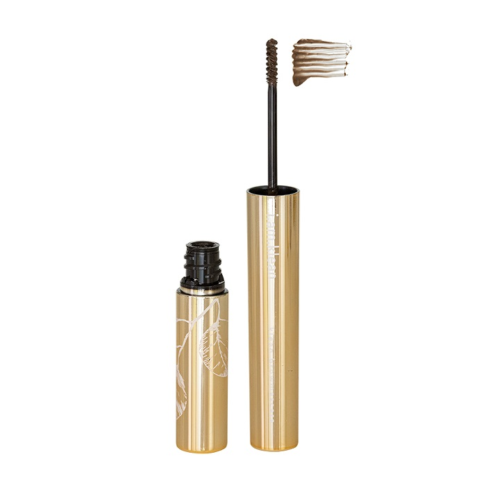 brow mascara open rechtop mediumdark met swoosh